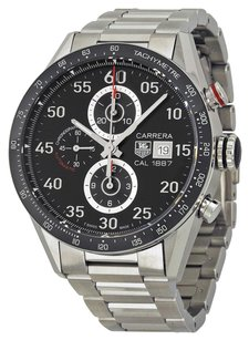 Rolex Tag Heuer Carrera 1887 Stainless Steel Chronograph Men's Watch CAR2A10