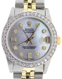 Rolex Unisex Datejust 31mm 2-Tone Diamond Watch with Box & Appraisal