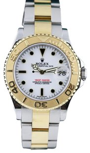 Rolex 2008Rolex Oyster Perpetual YachtMaster 168623 18k Gold & Steel Ladies