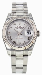 Rolex Women's Datejust 179174 26mm Watch with Silver Dial, Comes With Papers. RLXLS83