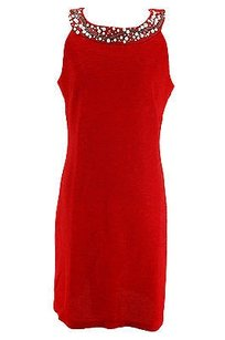 Ronni Nicole short dress red Womens on Tradesy