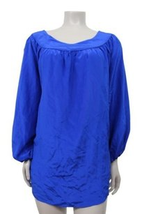 Rory Beca Silk Top Royal blue