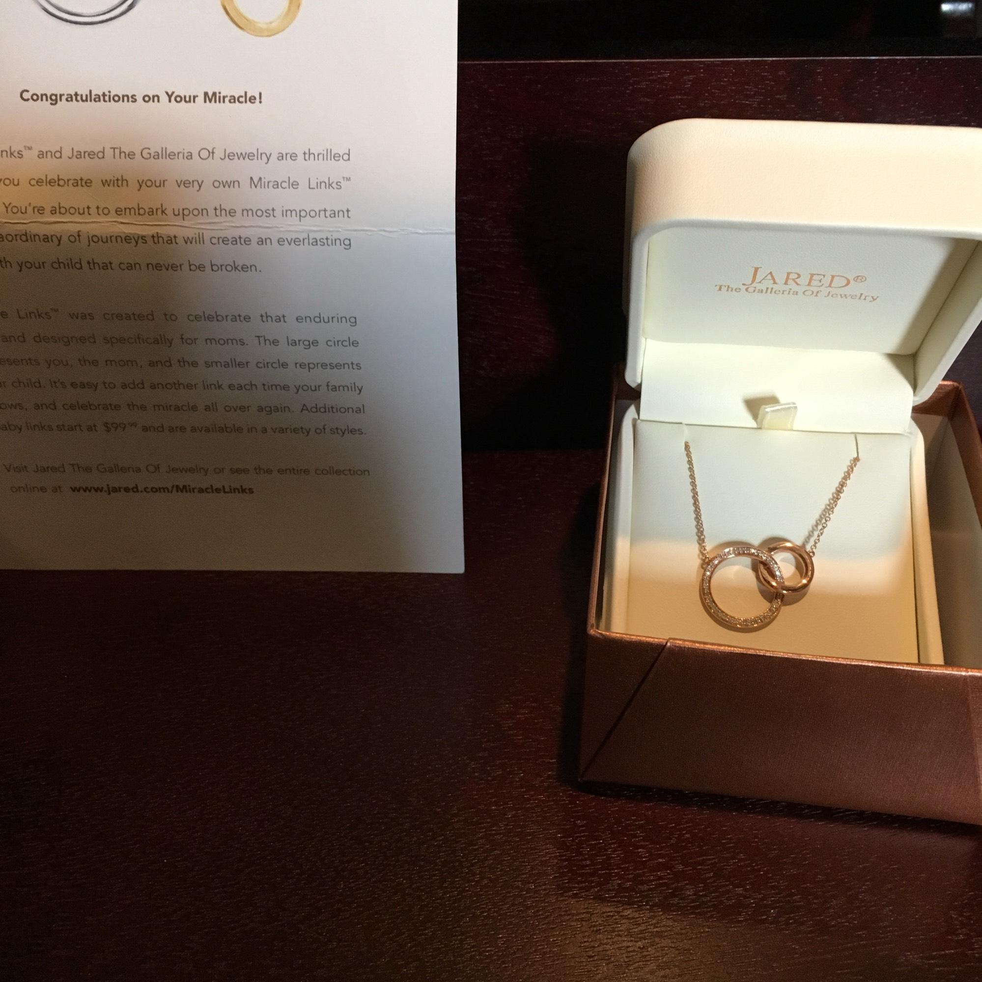 Rose Gold and Diamonds Necklace Tradesy