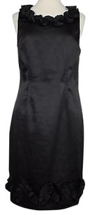 Roulette Womens Solid Dress
