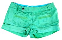 Roxy Size 5 P1167 Mini/Short Shorts green