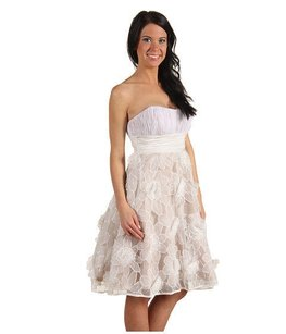 RSVP Strapless Lace Wedding Dress