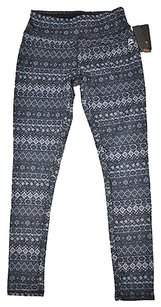 RXB Rbx Active Womens Gray Ikat Printed Leggings Yoga Pants Size X-large