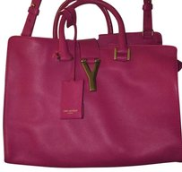 Saint Laurent Satchel in Magenta