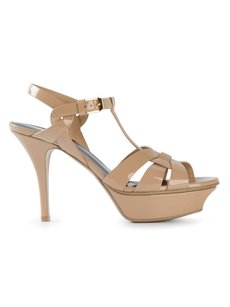 Saint Laurent Tribute Sandals Sandals Sexy Heels Ysl nude Platforms