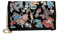 Saint Laurent Ysl Monogram Tapestry Shoulder Bag