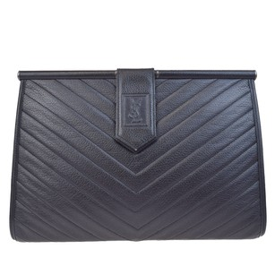 Saint Laurent Ysl Ysl black Clutch
