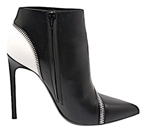 laurent ysl 4 5 quot stiletto heel ankle pointed toe