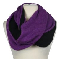 Saks Fifth Avenue Saks Fifth Avenue Womens Purple Knit Infinity Scarf One Casual