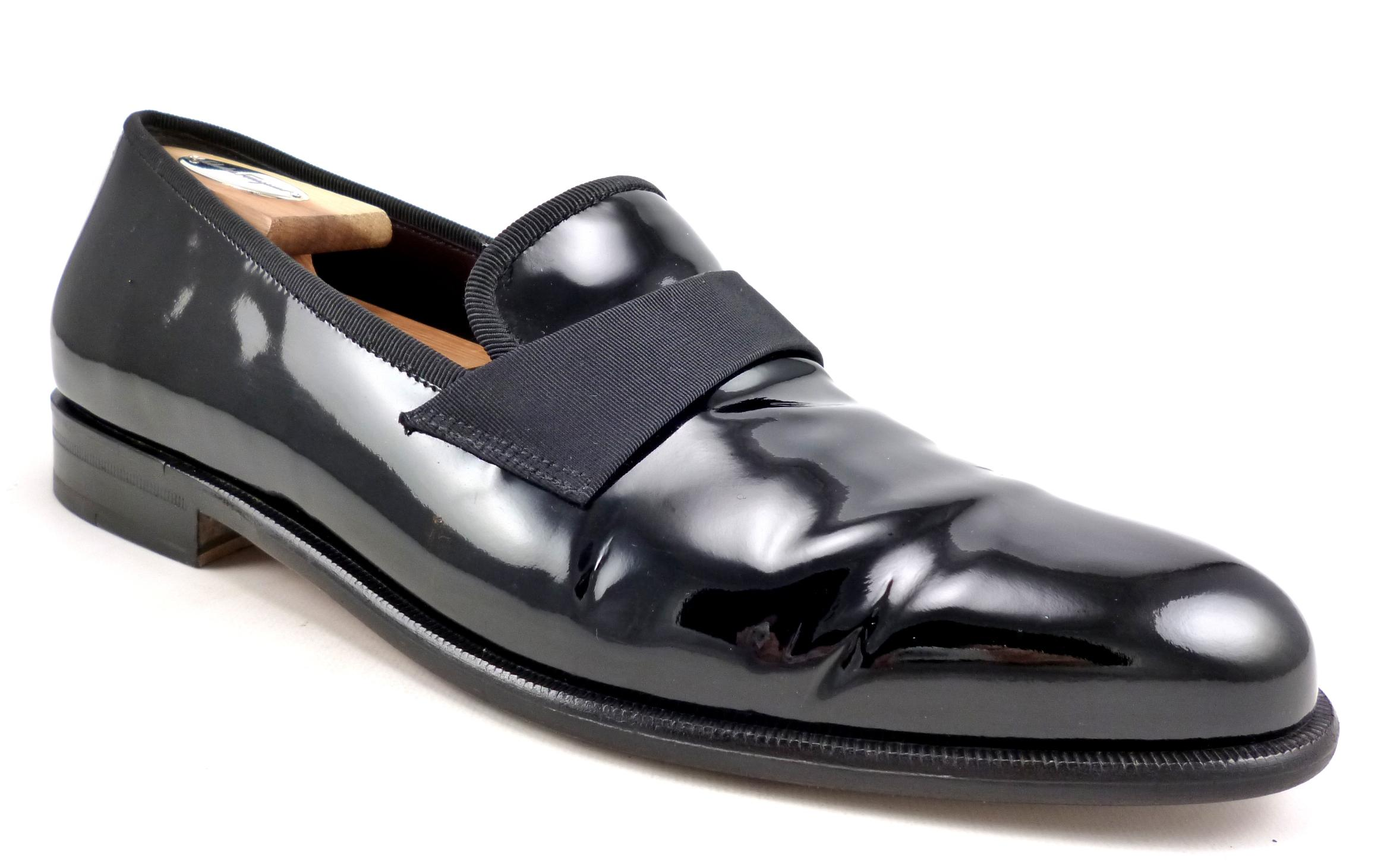 sale best store to get Salvatore Ferragamo Patent Leather Loafer Mules clearance footlocker pictures official online Zdyo7