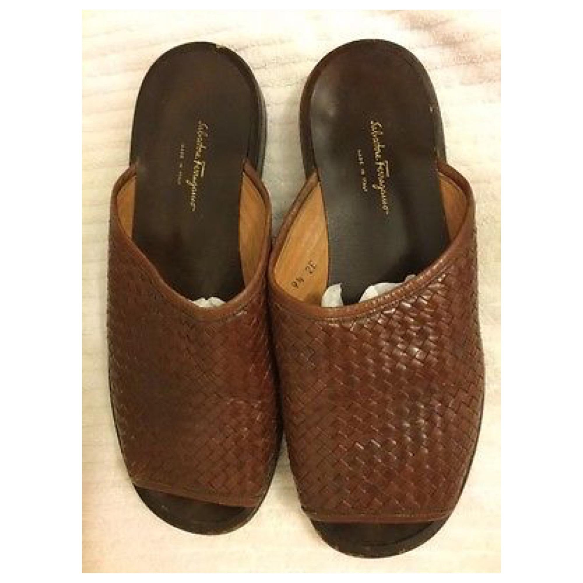 Salvatore Ferragamo Woven Leather Slide Sandals free shipping best store to get sale really cheap price wholesale price cheap sale shop cheap pay with paypal AAgTMDG