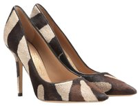Salvatore Ferragamo Cacao Pony Hair Pumps