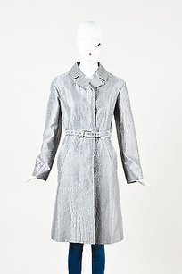 Salvatore Ferragamo Crocodile Trench Coat