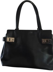 Salvatore Ferragamo Vintage Tote in Black