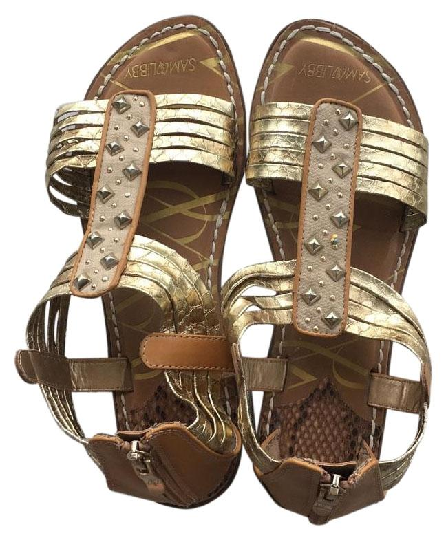 Sam & Libby gold sandals