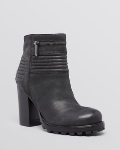 Sam Edelman Fowler Quilted Black Boots