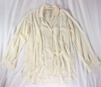 Sandro Lace Cream Top