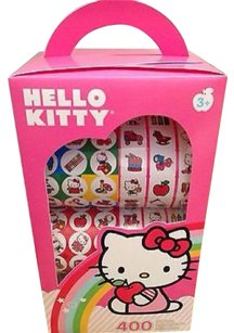 Sandy Lion / Sanrio Sanrio HELLO KITTY 400 Sticker Boxed Set