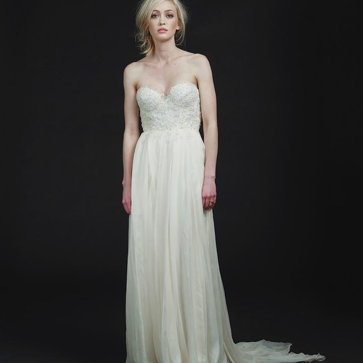 Sarah Seven Carmine Wedding Dress Wedding Dress on Sale 38 Off