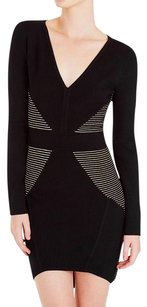 sass & bide Long Sleeve Black Dress