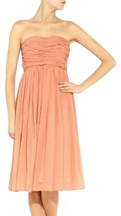 See by Chlo Silk Chiffon Strapless Flowy Dress
