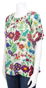 See by Chlo Chloe White Multi Top Multi-Color