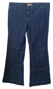 See Thru Soul Trouser/Wide Leg Jeans-Medium Wash