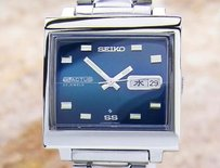 Seiko Seiko Actus Mens Automatic Day Date Pristine Made In Japan Watch 1970s Dx34