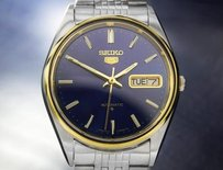 Seiko Seiko Day Date Automatic Mens Vintage Japanese Watch Ref 6319-8060 Td683