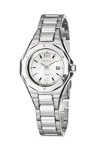 Seiko Seiko Sxda17 Stainless Steel Silver Tone Date Dress Womens Watch