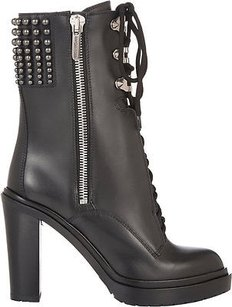 Sergio Rossi Studded Black Boots
