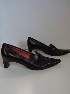 Sergio Rossi Leather Black Pumps