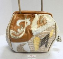 Sharif Vintage Leather Cross Body Bag