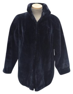 MENS BEAVER FUR coat BOMBER Fur Coat