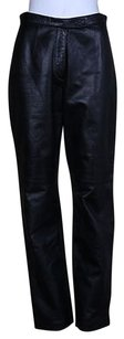 Siena Studio Womens Casual Med Leather Pants