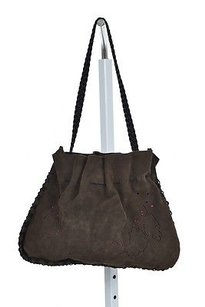 Sigrid Olsen Accessories Womens Leather Handbags Hobo Bag