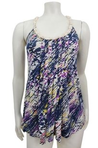 Silence + Noise Splatter Top Multi-Color