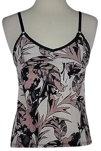 Silence + Noise Amp Womens Floral Sleeveless Cotton Top Multi-Color