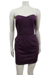Silence + Noise Beaded Strapless Sheath Urban Outfitters Dress