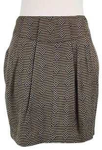 Silence + Noise And Womens Skirt Brown