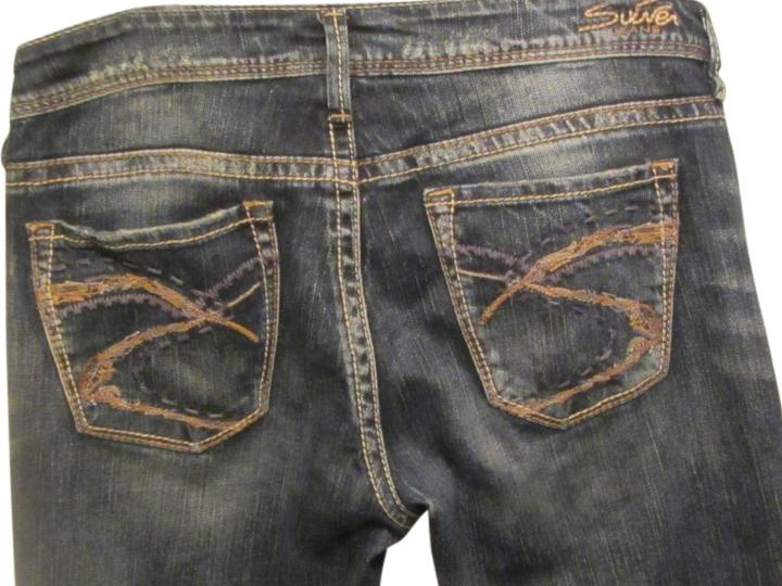 Silver Jeans Co. Blue Denim Medium Wash Lola 17