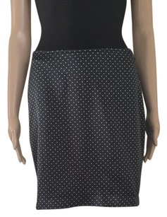 Sisley Skirt Black / White Polka Dots