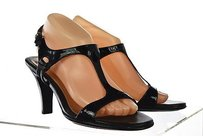 Söfft Sofft Womens Strappy 9m Heels Patent Leather Casual Black Pumps