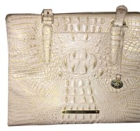 SOLD Brahmin Tote in Creme & Gold