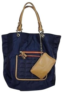 Sondra Roberts Womens Navy Tote in Blue
