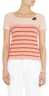 Sonia Rykiel Striped Bold Stripe Cotton Sweater